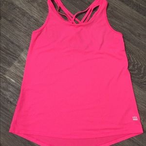Victoria secret tank top hot pink NWOT